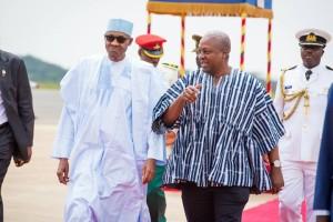 Buhari in Ghana 2
