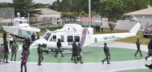 Lagos helicopter