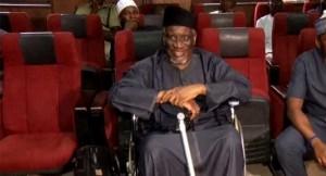 Haliru Bello Mohammed in wheelchair
