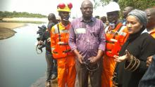 Ministers of Environment on the scene