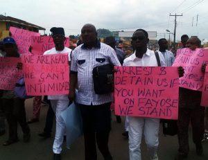 Ekiti-protesting lawmakers