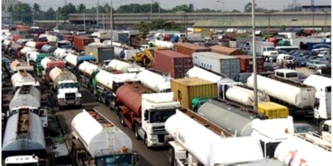 Image result for Traffic on Apapa road